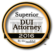 NAFDD DUI Attorney Rating